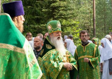 Престольный праздник храма Серафима Соровского